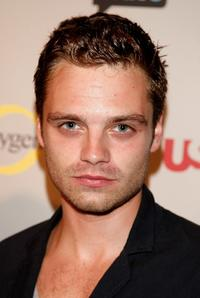 Sebastian Stan at the NBC Universal 2008 Press Tour All-Star party.