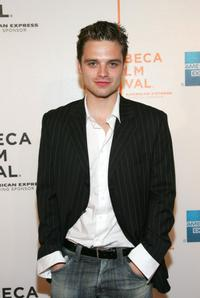 Sebastian Stan at the premiere of