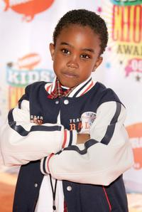 Khamani Griffin at the 19th Annual Kid's Choice Awards.
