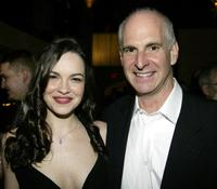 Tammy Blanchard and Ron Kastner at the opening night party of