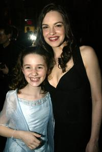 Tammy Blanchard and Addison Timlin at the opening night party of