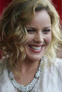 Abbie Cornish at the Sydney premiere of