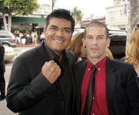 George Lopez and Robert Ben Garant at the premiere of