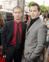 Robert Ben Garant and Producer Thomas Lennon at the premiere of
