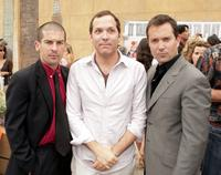 Robert Ben Garant, Andrew Rona and Producer Thomas Lennon at the premiere of