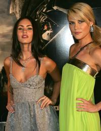 Megan Fox and Rachael Taylor at the special event celebrity screening of