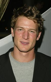 Philip Winchester at the WB Upfront All-Star Party.
