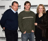 Richard Easton, Chris Carmack and Jan Maxwell at the photocall of