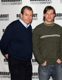 Richard Easton and Chris Carmack at the photocall of