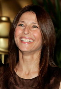 Catherine Keener at the Oscar nominees luncheon.