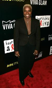 Angelique Kidjo at the Pusher's Ball to benefit the