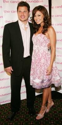 Nick Lachey and Vanessa Minnillo at the 4th Annual