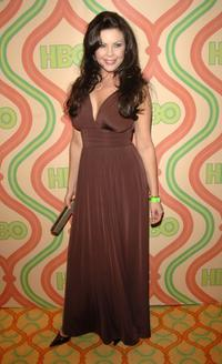 Christa Campbell at the HBOs Post Golden Globe After Party.