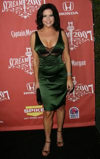 Christa Campbell at the Spike TVs Scream 2007.