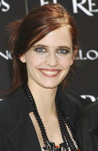 """Eva Green at a photocall for """"Kingdon of Heaven"""" in Madrid, Spain."""