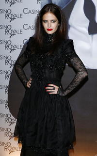 Eva Green at the French premiere of ''Casino Royale'' in Paris, France.