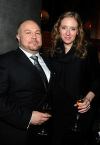 Gareth Unwin and Rosie Ellis at the after party of the premiere of