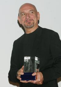 Ben Kingsley as he accepts Tower Award at the closing night Gala of the Russian Nights, Film Festival.