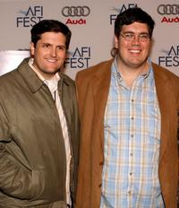 Director Chris Bowman and Hubbel Palmer at the AFI FEST 2007.