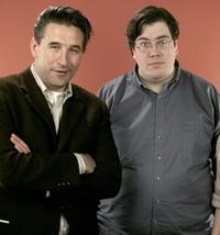 William Baldwin and Hubbel Palmer at the 2007 Sundance Film Festival.