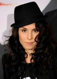 Noomi Rapace at the Paris premiere of