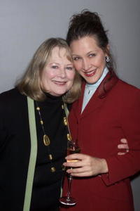 Shirley Knight at the opening night party for