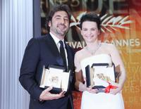 Javier Bardem and Juliette Binoche at the 63rd Annual Cannes Film Festival.