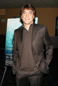 "Javier Bardem at the premiere of ""The Sea Inside"" in New York City."