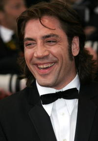 "Javier Bardem at the premiere for the film ""Lemming"" in Cannes, France."