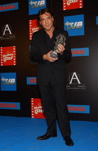 Javier Bardem at the Goya Cinema Awards in Madrid, Spain.