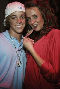 Ryan Sheckler and Guest at the Oakley, BME Recording & Crunk Energy Drink Host Pre-VMA Party.