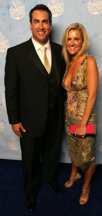 Rob Riggle and Guest at the Comedy Central's 2007 Emmy party.