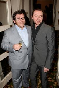 Nick Frost and Simon Pegg at the Sony Ericsson Empire Awards.