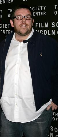 Nick Frost at the screening of