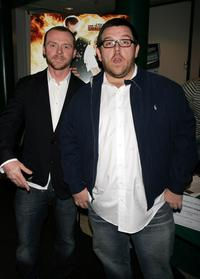 Simon Pegg and Nick Frost at the screening of