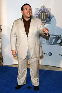 Nick Frost at the Australian premiere of