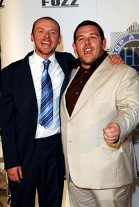 Simon Pegg and Nick Frost at the Australian premiere of