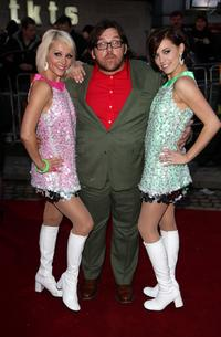 Nick Frost and Guests at the world premiere of