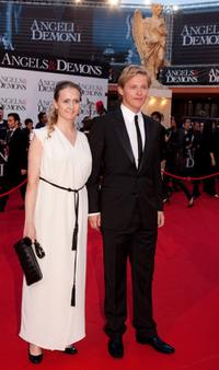 Thure Lindhardt and Guest at the world premiere of