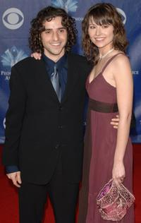David Krumholtz and Vanessa Britting at the 32nd Annual People's Choice Awards.