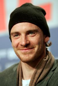 Michael Fassbender at the promotion of