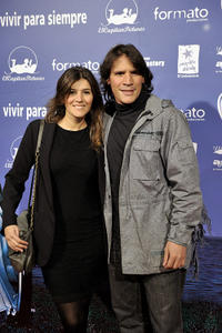 Marta Solaz and Sergio Peris-Mencheta at the Spain premiere of