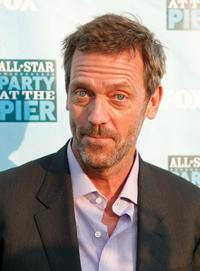 Hugh Laurie at the FOX All-Star Party.