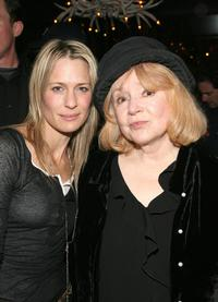 Piper Laurie and Robin Wright Penn at the Sundance Film Festival '07.