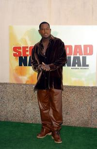 Martin Lawrence at the Spanish promotion of