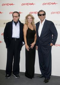 Peter Bogdanovich, Eloise DeJoria and Robert Davi at the 2nd Rome Film Festival.