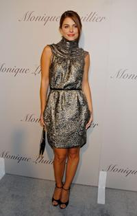 Maria Menounos at the Monique Lhuillier Salon opening.