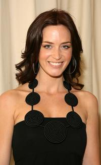 Emily Blunt at the MaxMara and Women in Film award.