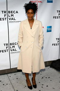 Joie Lee at the premiere of