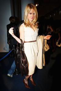 Alice Eve at the Aquascutum LFW Spring/Summer 2009 show.